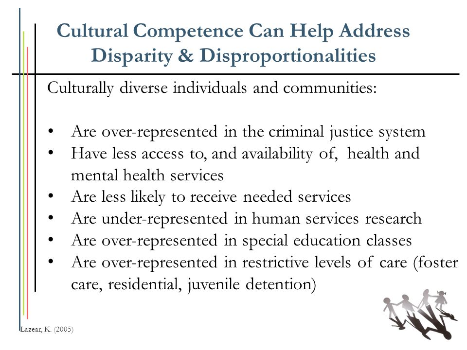 Cultural Competence Can Help Address Disparity & Disproportionalities