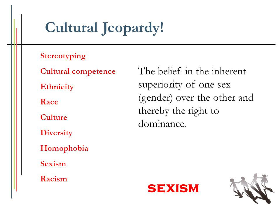 Cultural Jeopardy! sexism