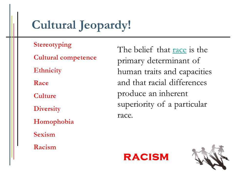 Cultural Jeopardy! racism