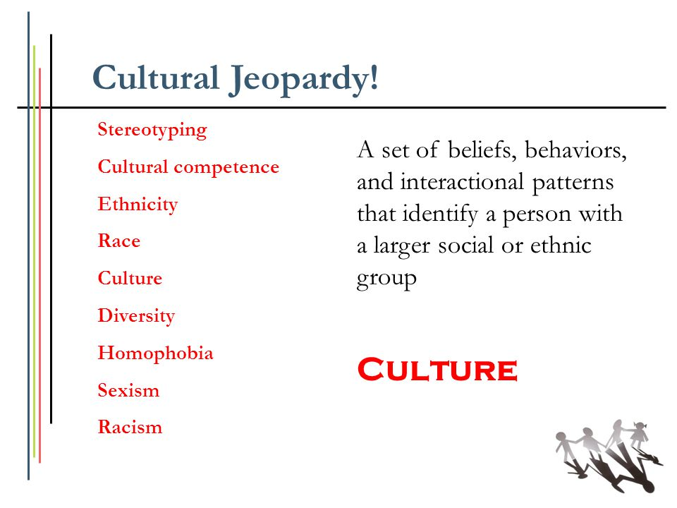Cultural Jeopardy! Culture