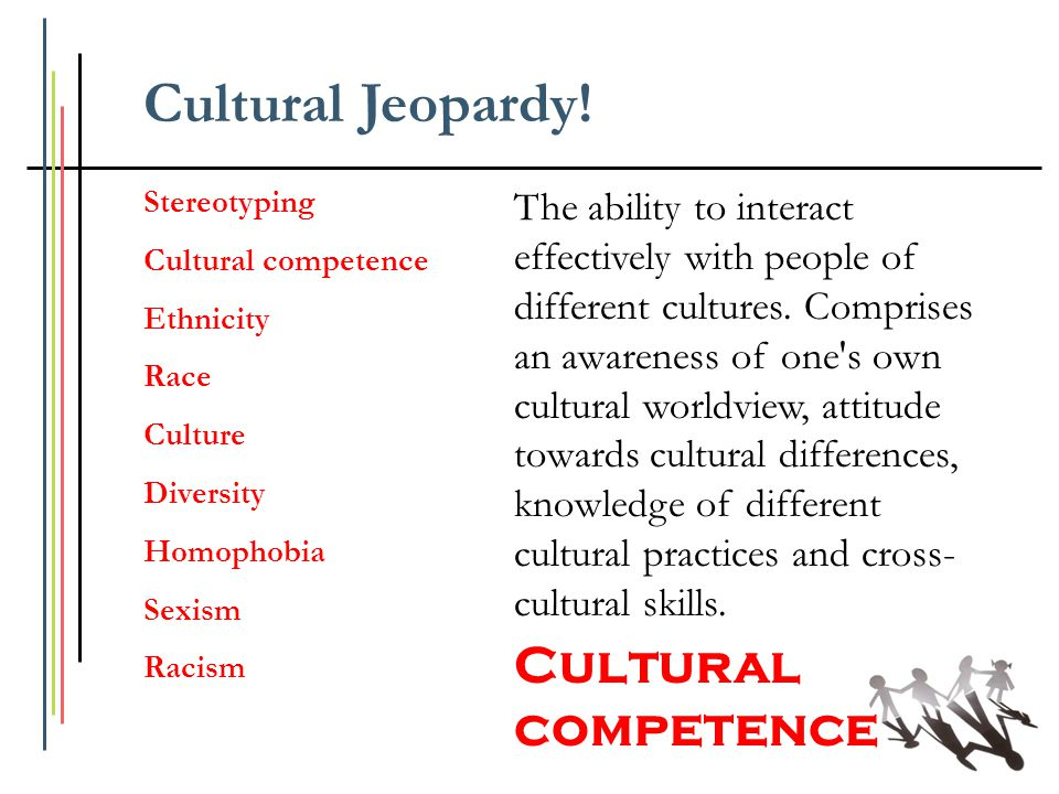 Cultural Jeopardy! Cultural competence