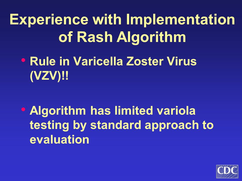 Experience with Implementation of Rash Algorithm