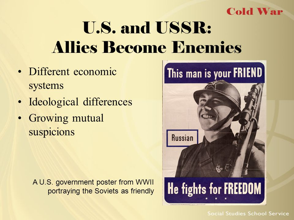 U.S. and USSR: Allies Become Enemies