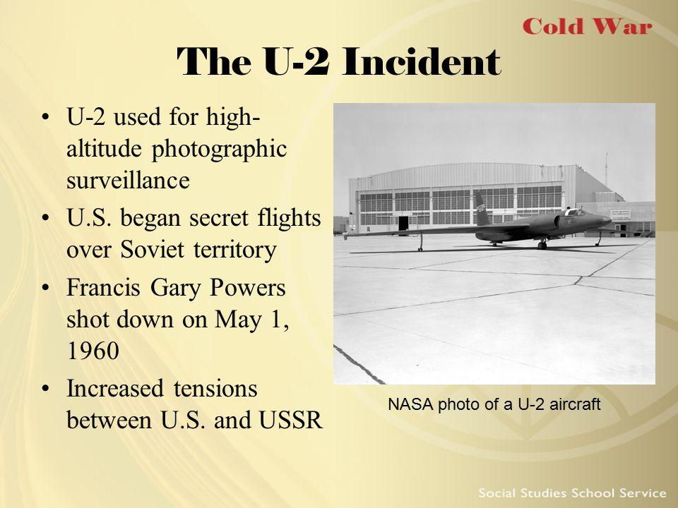 NASA photo of a U-2 aircraft