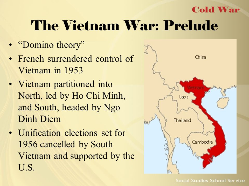The Vietnam War: Prelude