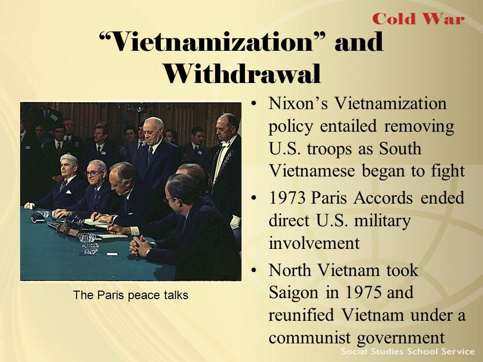 Vietnamization and Withdrawal
