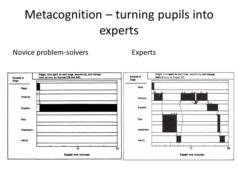 Metacognition – turning pupils into experts