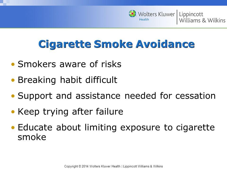 Cigarette Smoke Avoidance