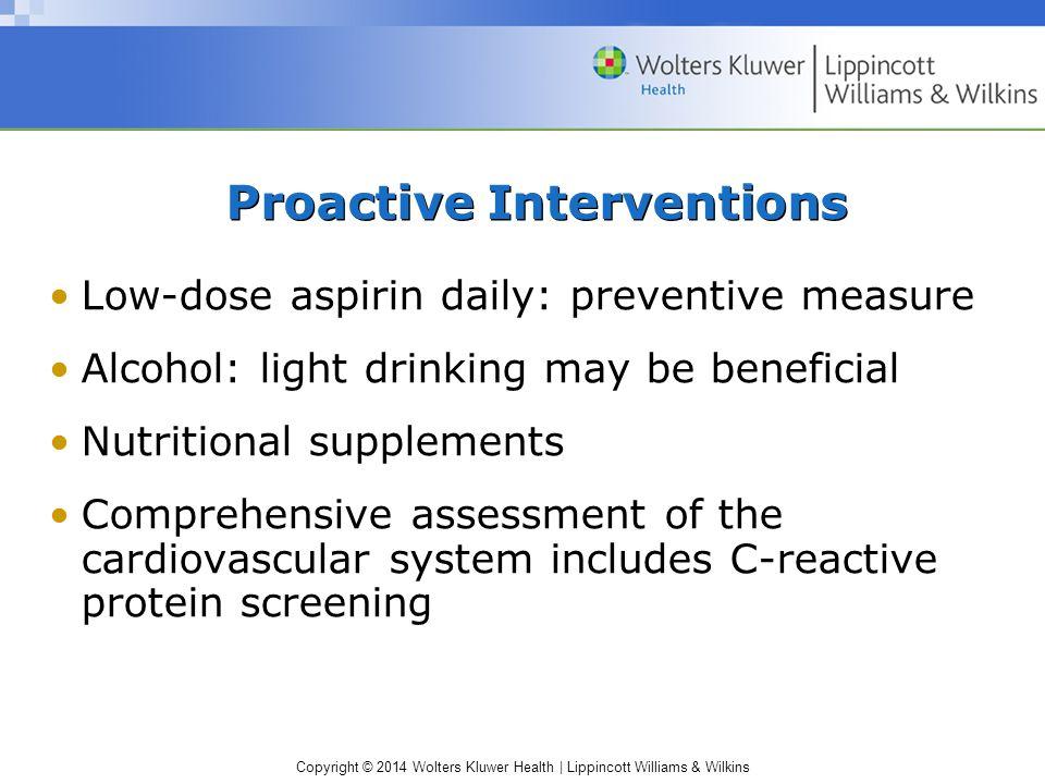 Proactive Interventions