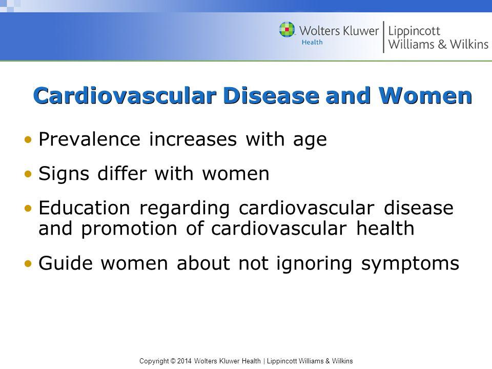 Cardiovascular Disease and Women