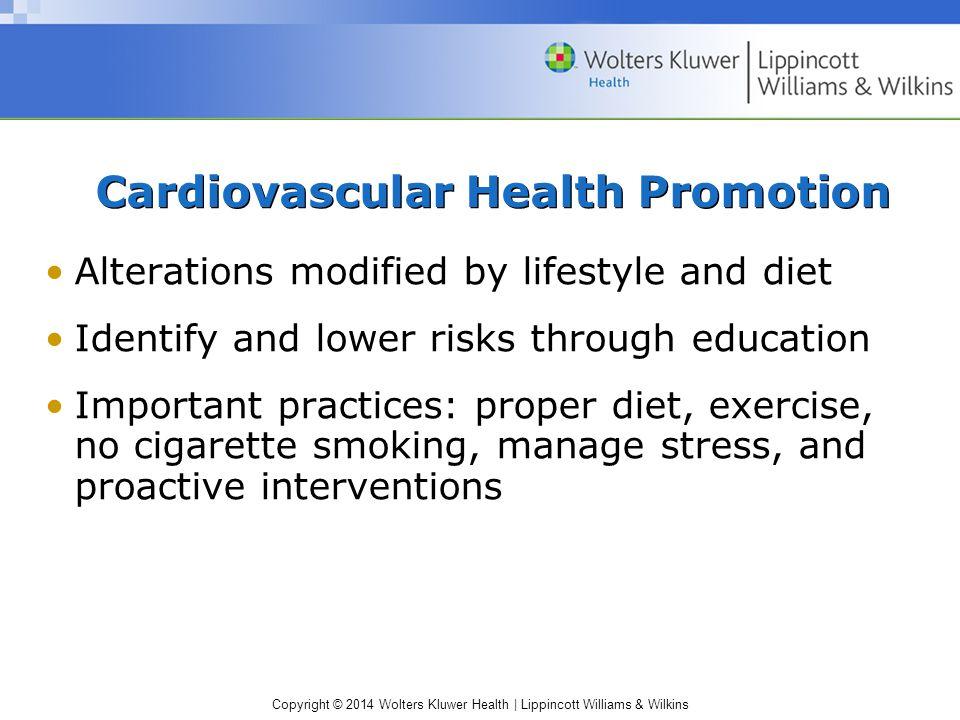 Cardiovascular Health Promotion