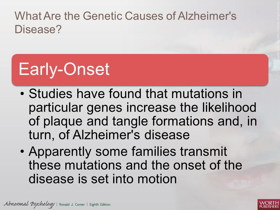 What Are the Genetic Causes of Alzheimer s Disease