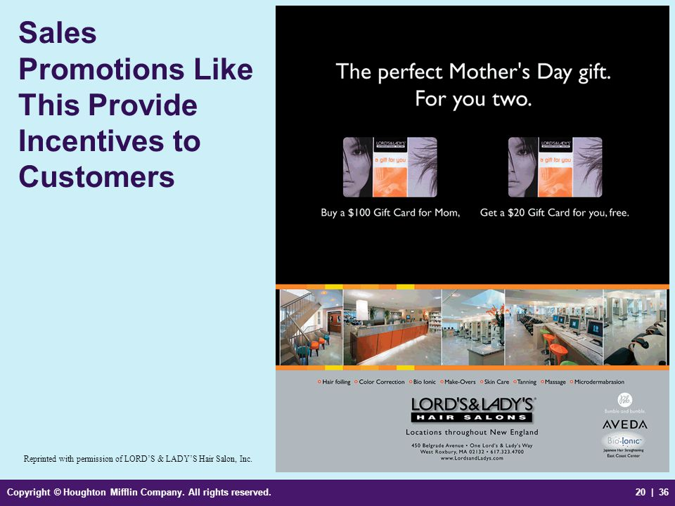 Sales Promotions Like This Provide Incentives to Customers
