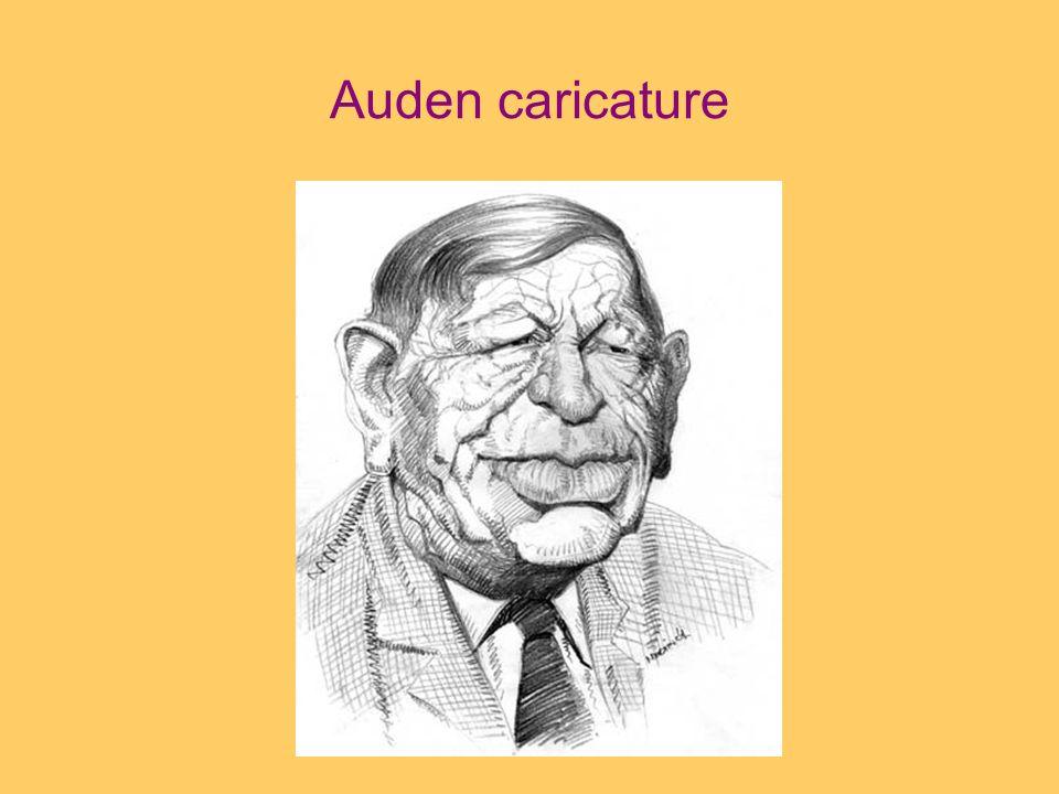 Auden caricature