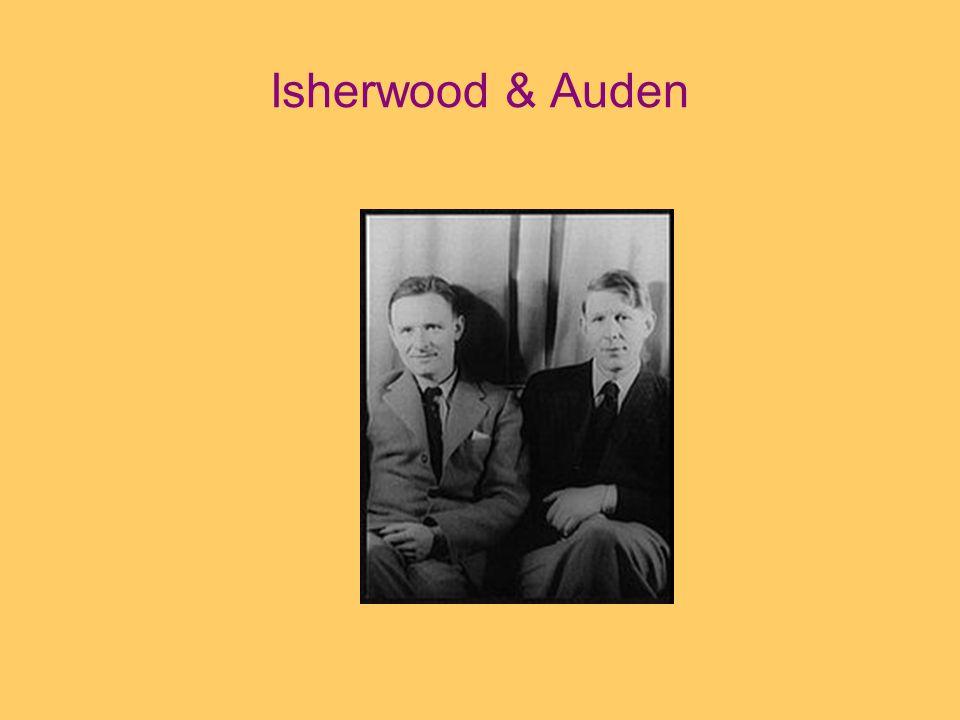 Isherwood & Auden