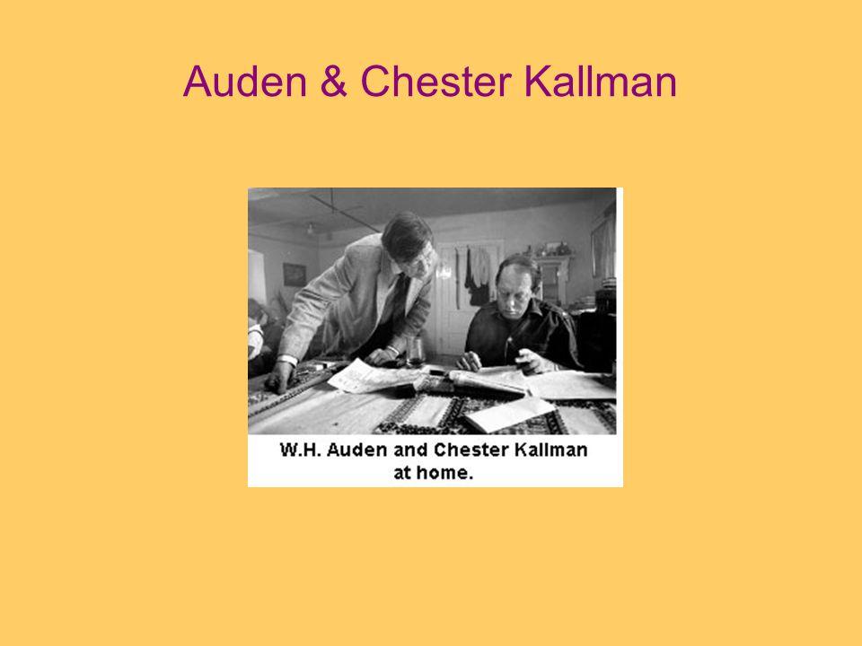 Auden & Chester Kallman