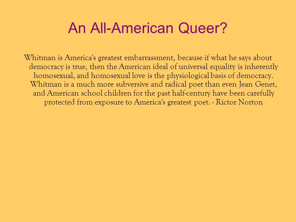 An All-American Queer
