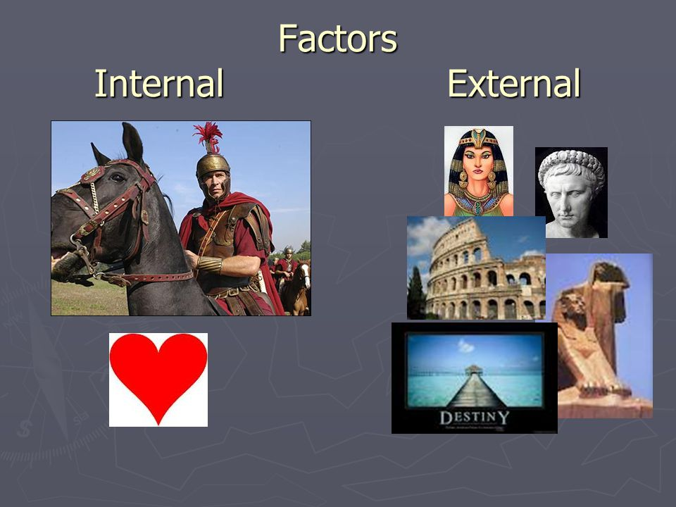 Factors Internal External