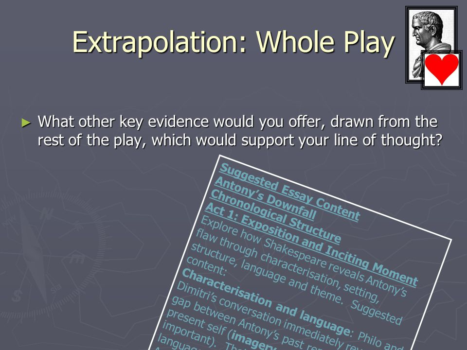 Extrapolation: Whole Play