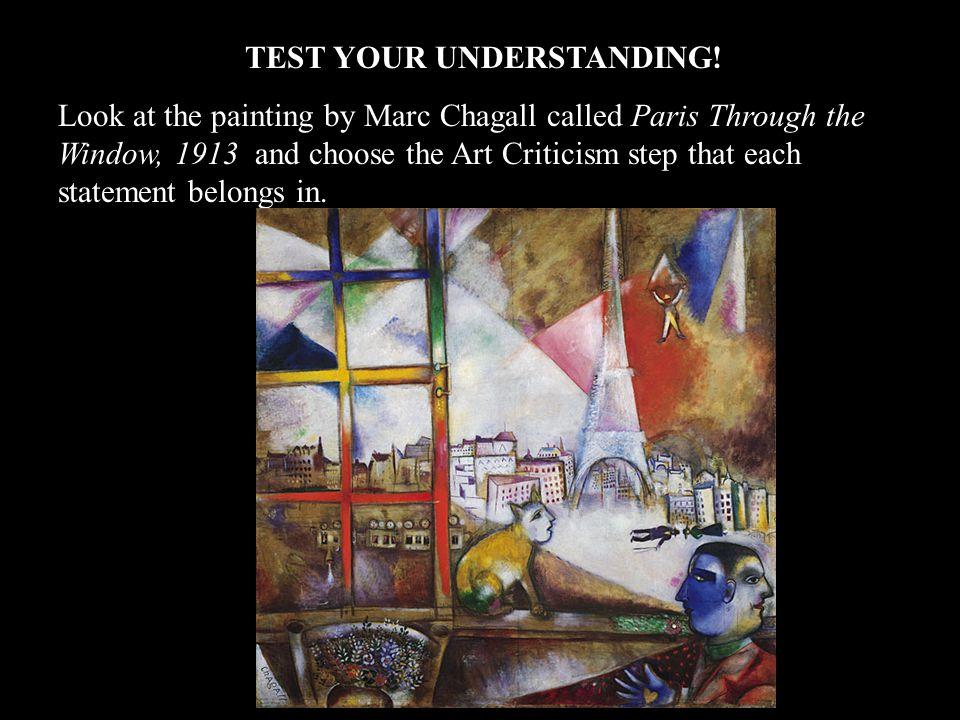 TEST YOUR UNDERSTANDING!