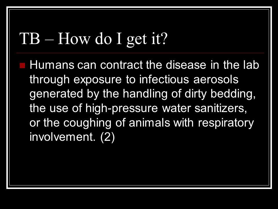 TB – How do I get it