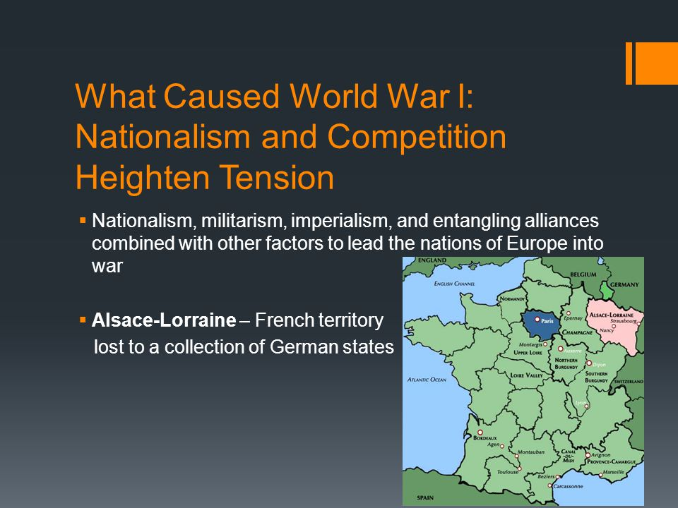 What Caused World War I: Nationalism and Competition Heighten Tension