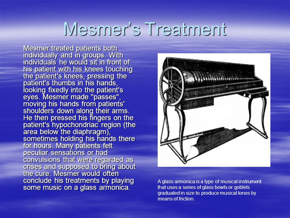 Mesmer's Treatment