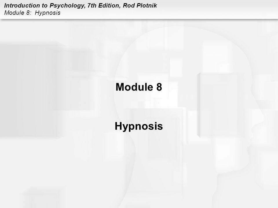 Module 8 Hypnosis