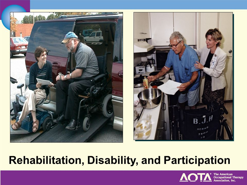 Rehabilitation, Disability, and Participation