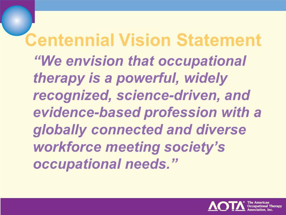 Centennial Vision Statement