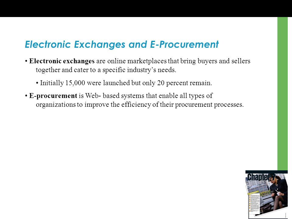 Electronic Exchanges and E-Procurement