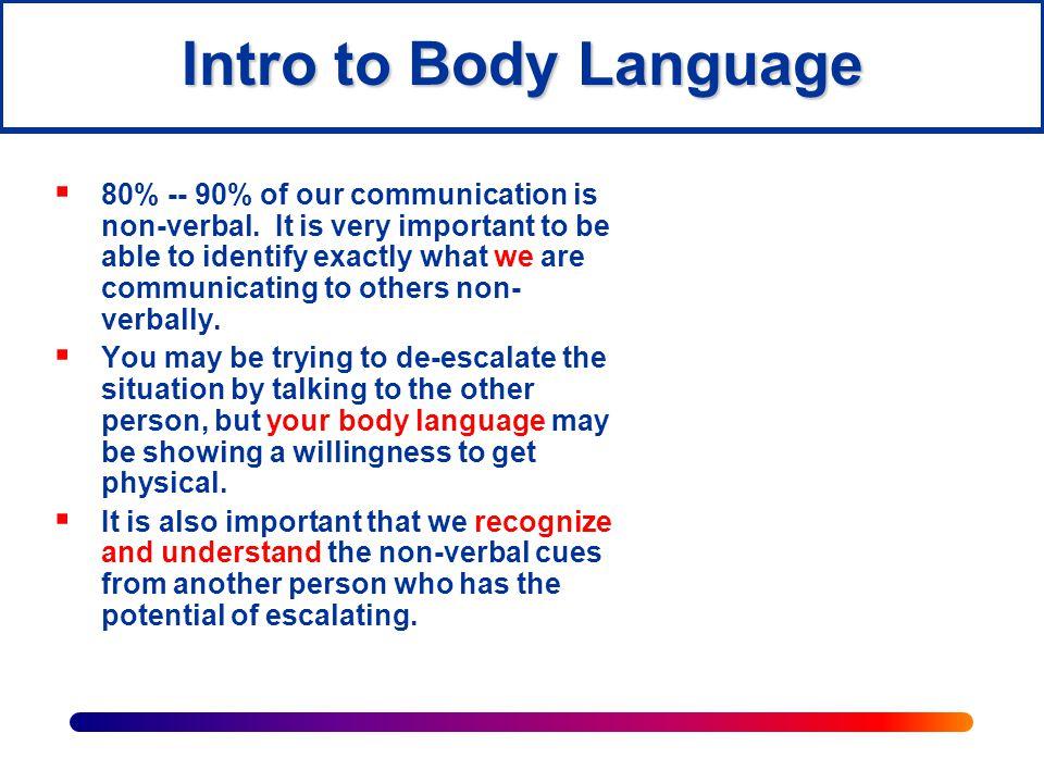 Intro to Body Language