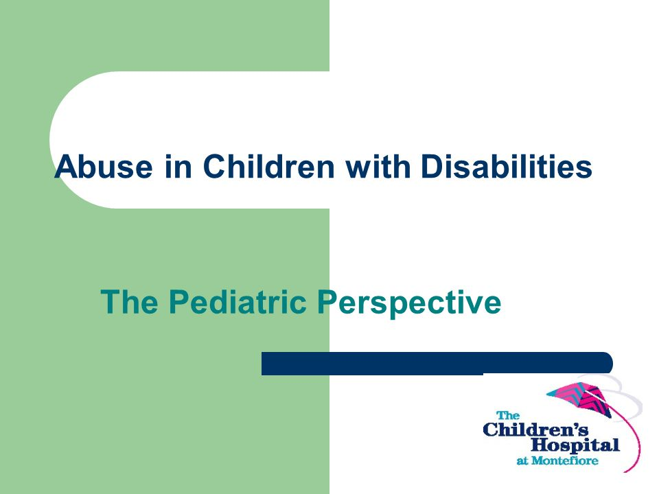 Abuse in Children with Disabilities