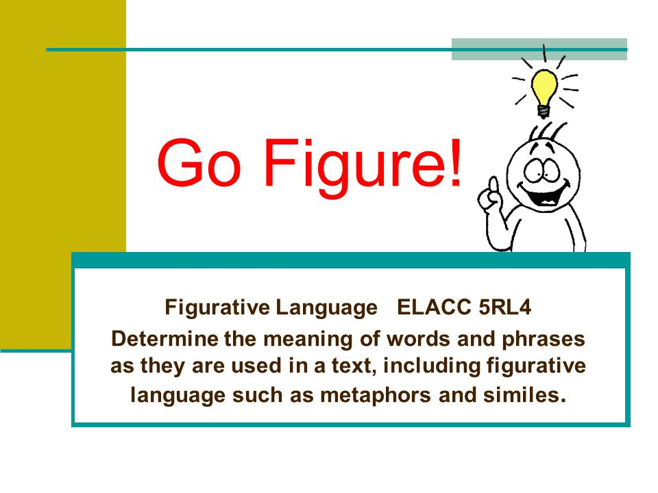 Figurative Language ELACC 5RL4
