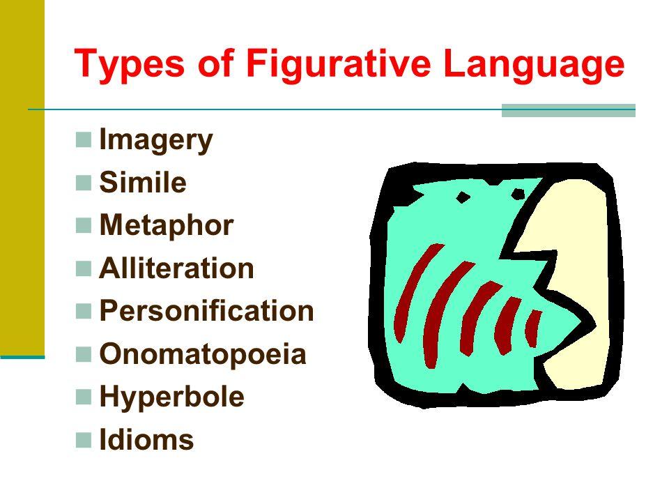 Types of Figurative Language