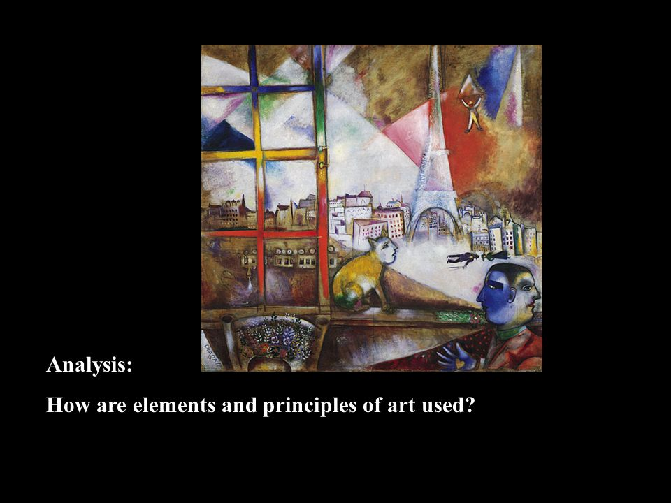 Analysis: How are elements and principles of art used