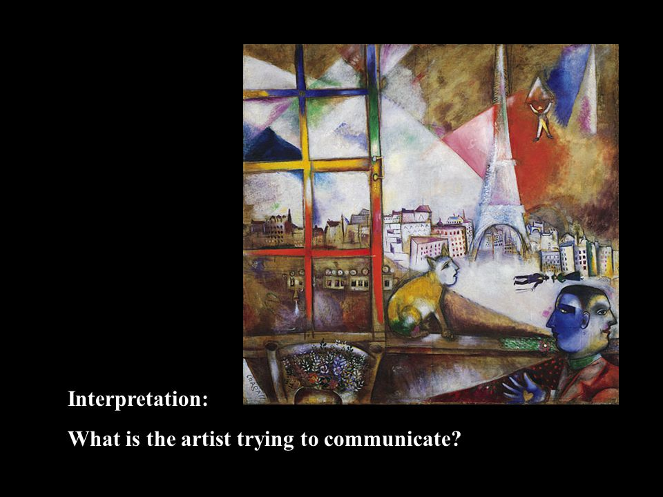 Interpretation: What is the artist trying to communicate