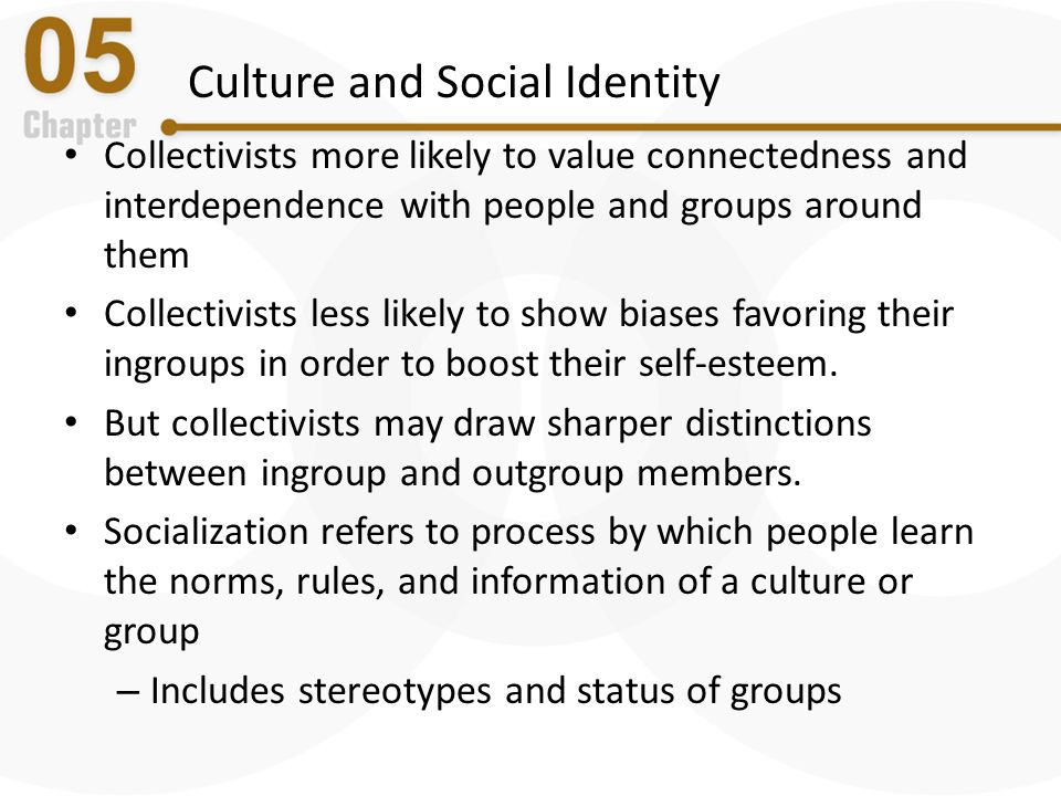Culture and Social Identity