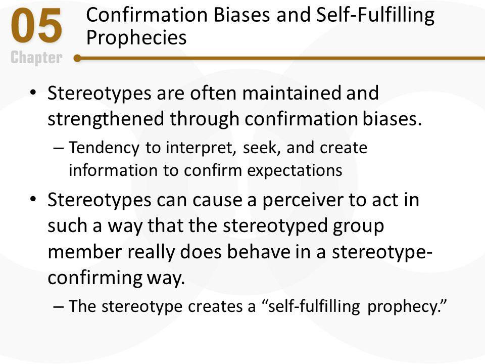 Confirmation Biases and Self-Fulfilling Prophecies