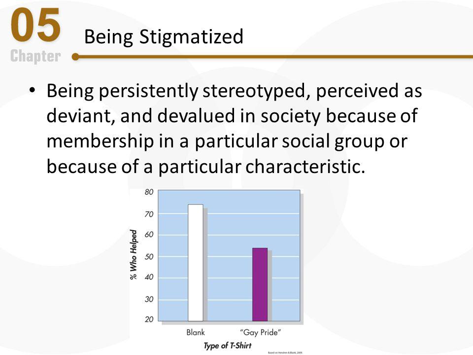 Being Stigmatized