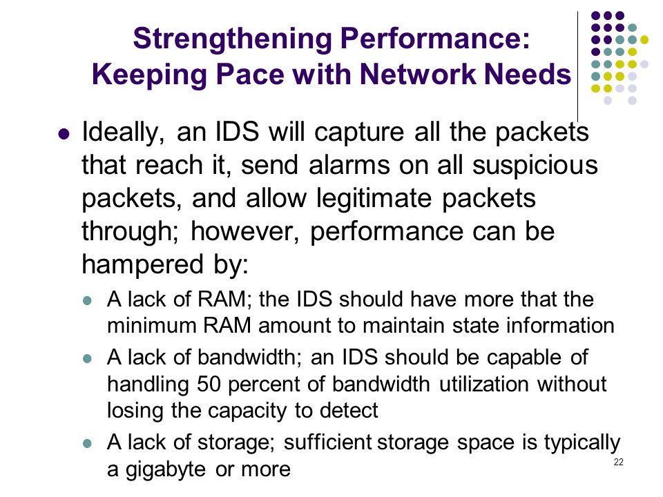 Strengthening Performance: Keeping Pace with Network Needs
