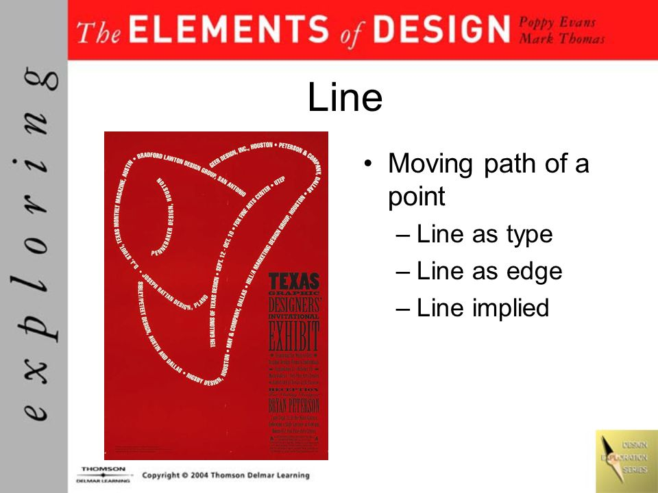 Line Moving path of a point Line as type Line as edge Line implied