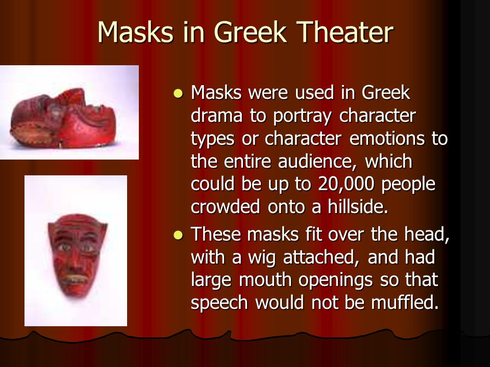 Masks in Greek Theater