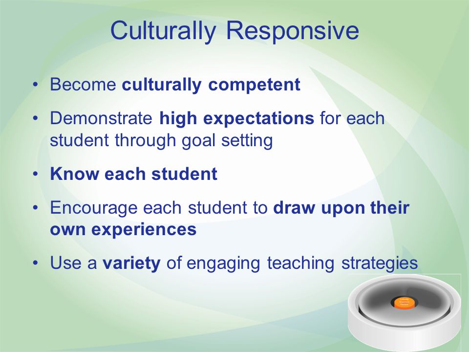 Culturally Responsive