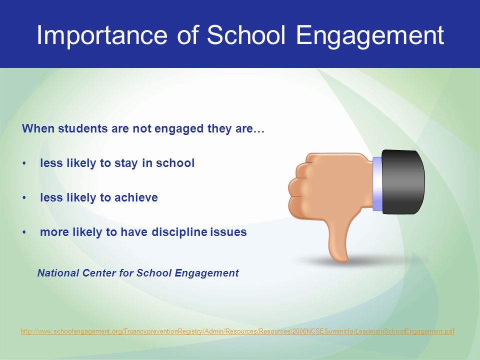 Importance of School Engagement