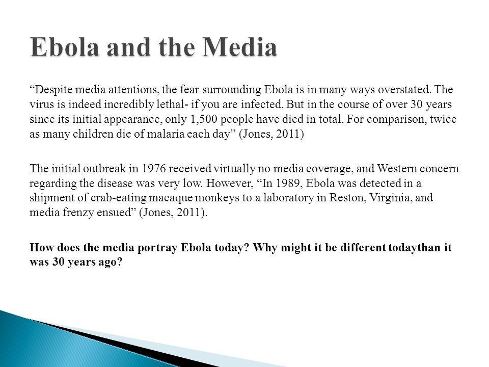Ebola and the Media
