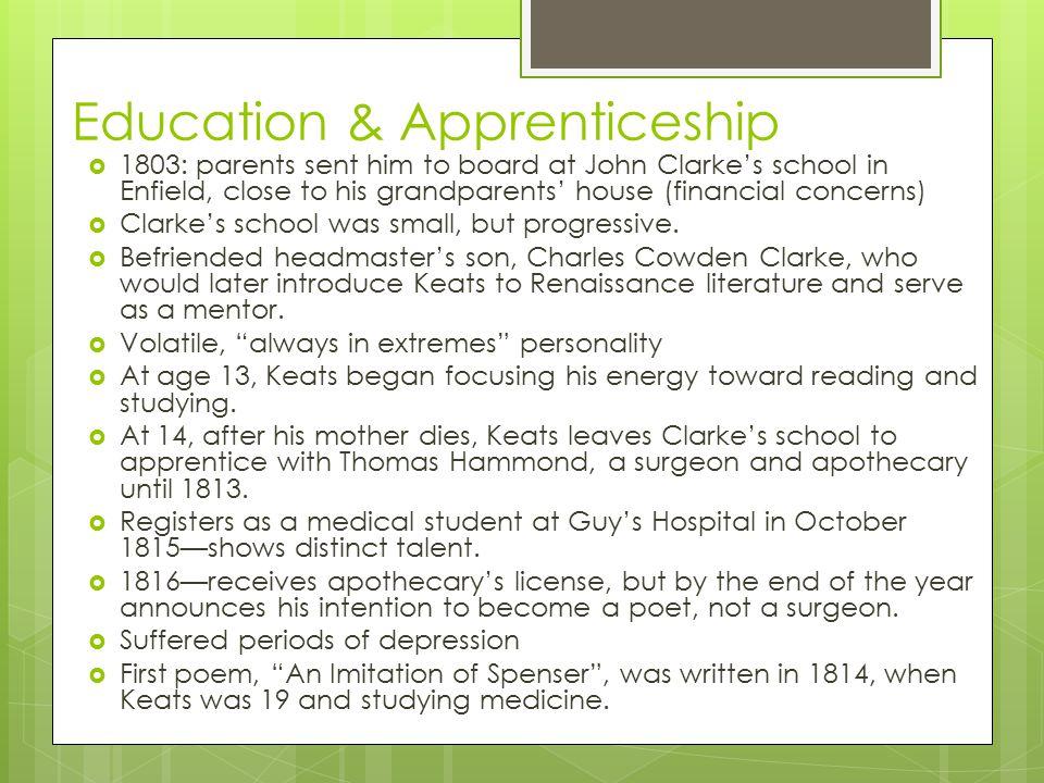 Education & Apprenticeship