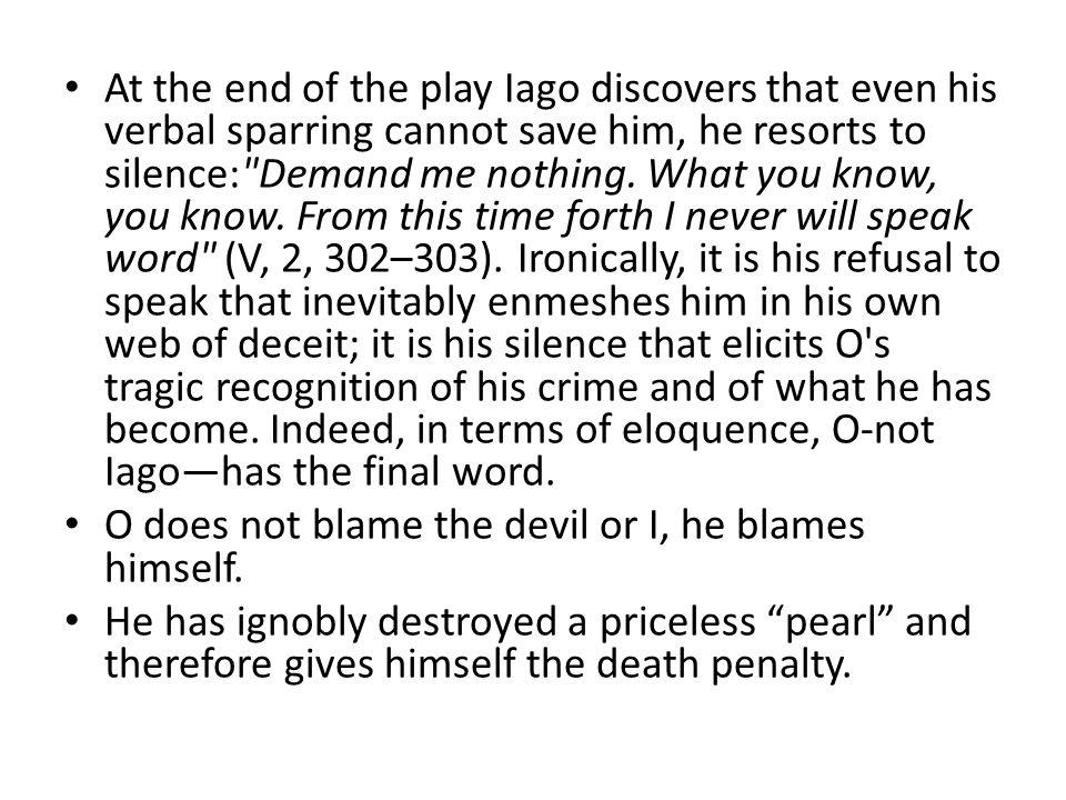 an analysis of othello as a tragic hero through his dramatic monologue William shakespeare's othello  after othello gives a monologue about all the reasons he  tired, top stories, tragedy, tragic, tragic hero.