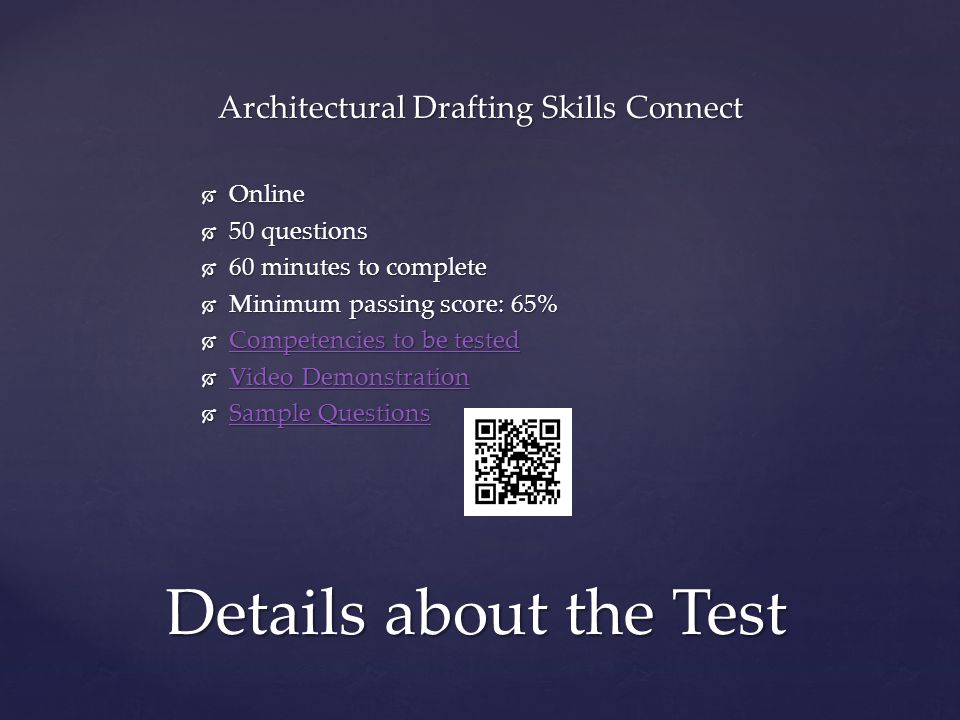 Architectural Drafting Skills Connect