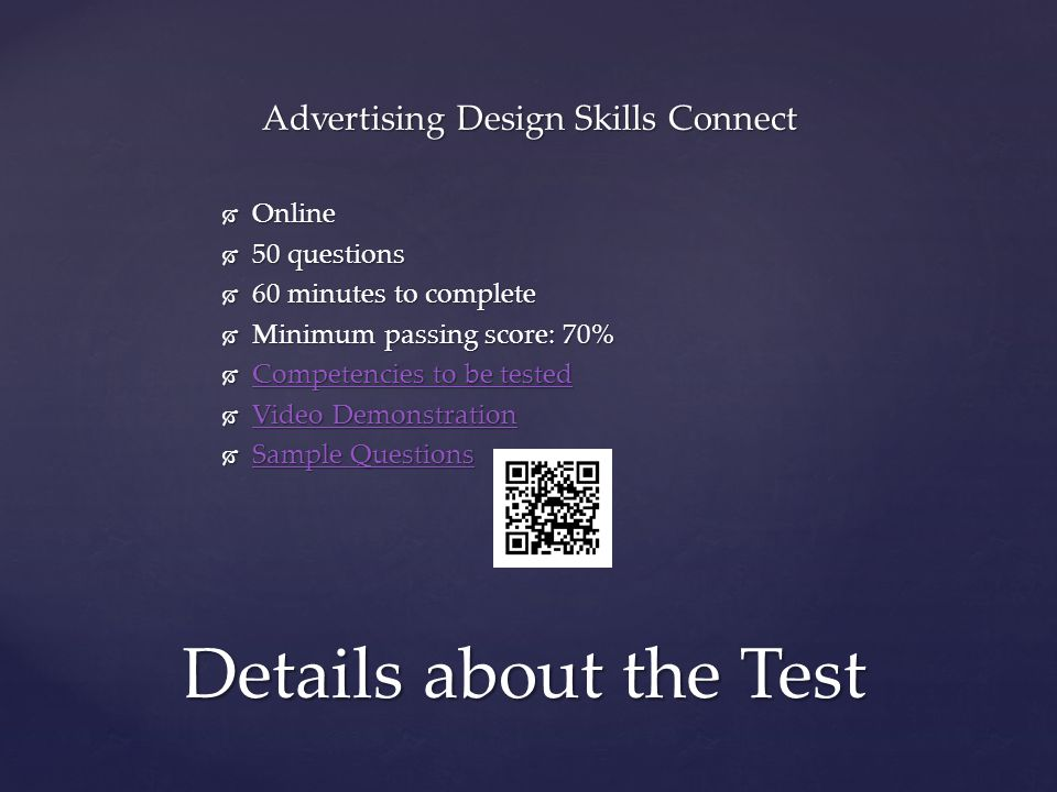 Advertising Design Skills Connect